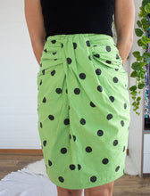 Load image into Gallery viewer, Vintage linen skirt S