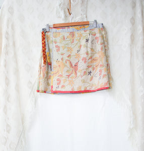 Kantha Wrap Skirt L/XL (#404)