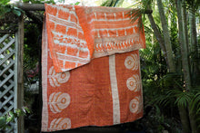 Load image into Gallery viewer, Single Kantha Quilt #331