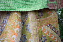 Load image into Gallery viewer, Single Kantha Quilt #310