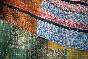 Single Kantha Quilt #14