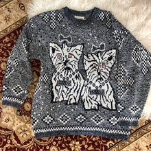 Load image into Gallery viewer, Kitsch Vintage Dog Sweater