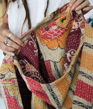Load image into Gallery viewer, Kantha Shoulder Bag (#67)