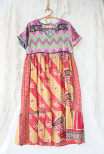 Kantha Dress S/M (#212)