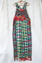 Load image into Gallery viewer, Kantha Dungarees L/XL  (#142)