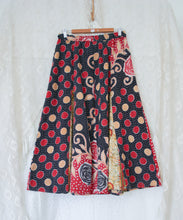 Load image into Gallery viewer, Kantha Midi Skirt L/XL (#331)