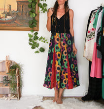 Load image into Gallery viewer, Kantha Midi Skirt S/M (#334)