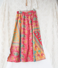 Load image into Gallery viewer, Kantha Midi Skirt S/M (#342)