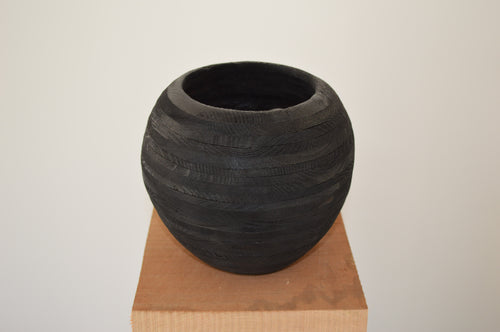 Vase en épicéa - Fait main - Made in France - Do Mokusai à Verson - Caen - Normandie