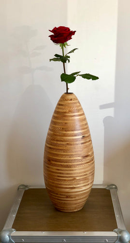 Vase en épicéa - Fait main - Made in France - Do Mokusai Allongé à Verson - Caen - Normandie