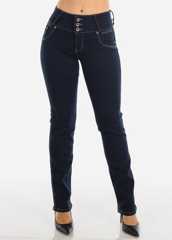 Bootcut Levanta Cola Dark Wash Jeans