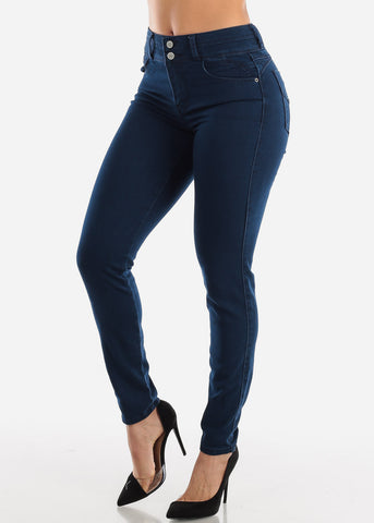 Image of Levanta Coa Dark Wash Skinny Jeans
