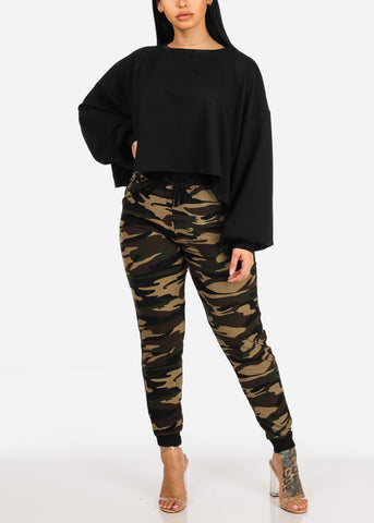 Image of One Size Camouflage Jogger Pants