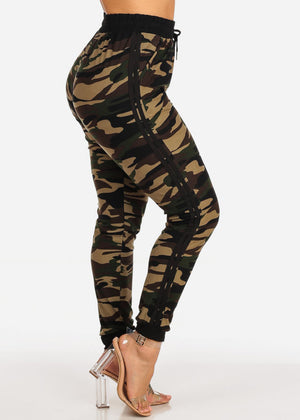 One Size Camouflage Jogger Pants
