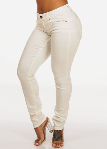 Cache Brand Women's White Pants