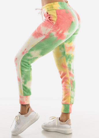 Image of Colorful Tie Dye Sweatpants