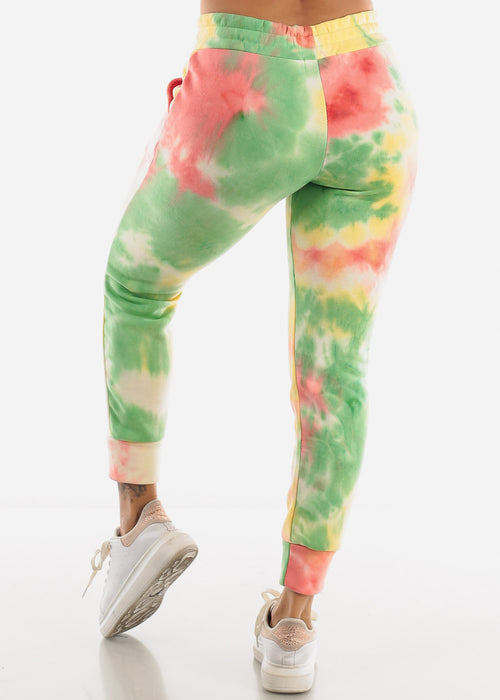 Colorful Tie Dye Sweatpants