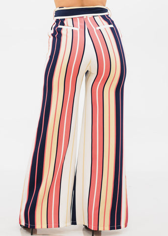 Stylish High Rise Stripe Pants