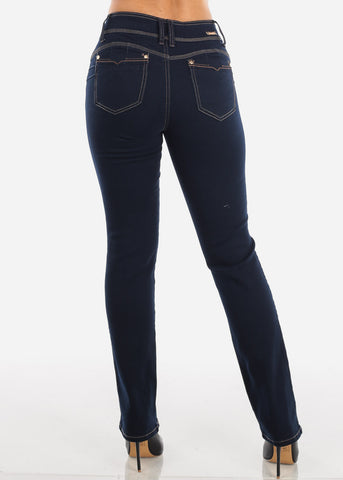 Image of Levanta Cola Dark Wash Bootcut Jeans