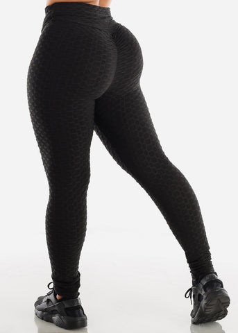 Anti Cellulite Black Hoodie & Leggings  (2 PCE SET)