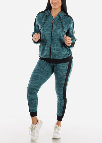 Image of Dirty Bluegreen Activewear Set
