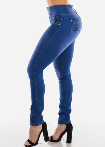 Image of Levanta Cola Blue Skinny Jeans