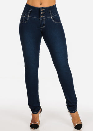Butt Lifting Columbian Design Push up Jeans