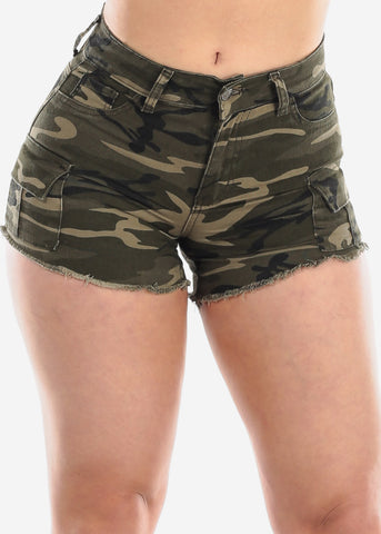 Image of Camo Shorty Shorts