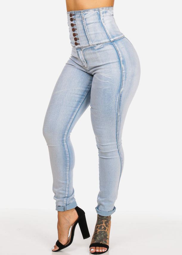 Ultra High Rise Butt Lifting Skinny Jeans