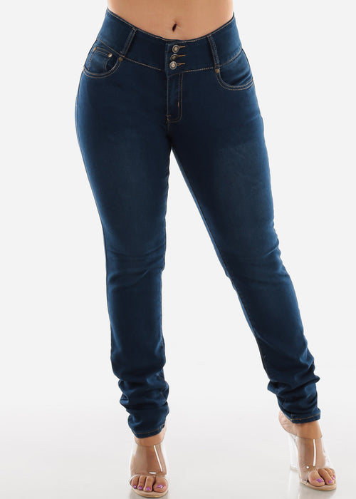 High Waisted Butt Lifting Skinny Jeans SIZES 13-15-17