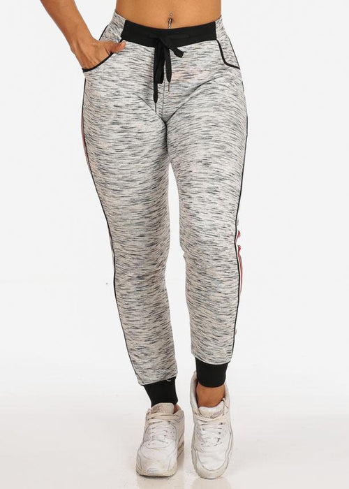 Grey Heather Comfy Jogger Pants