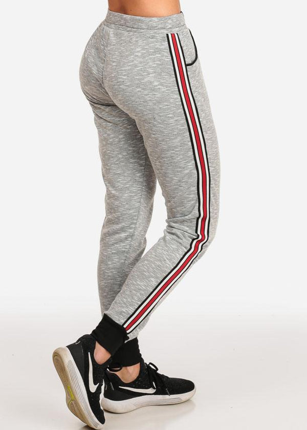 Light Grey Heather Comfy Jogger Pants