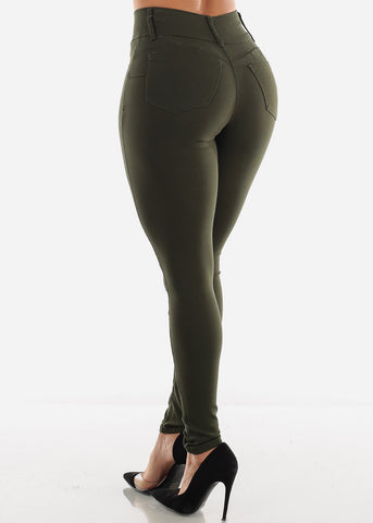 Image of Olive Butt Lifting Pants