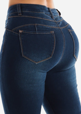 Image of Dark Wash Levanta Cola Bootcut Jeans