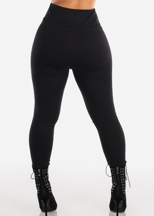 High Rise Black Leggings