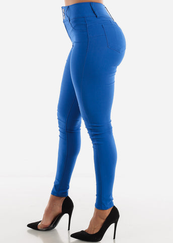 Image of Royal Blue Butt Lifting Jeans