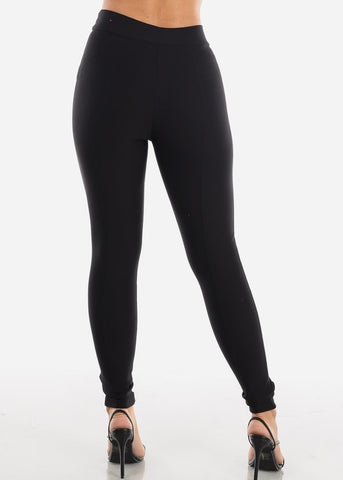 Image of High Rise Black Legging