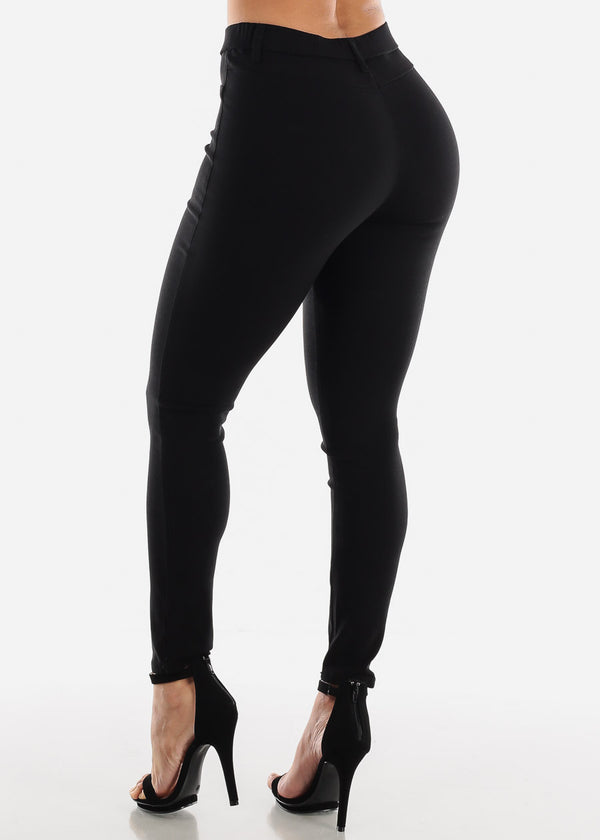 Black Jegging Skinny Pants