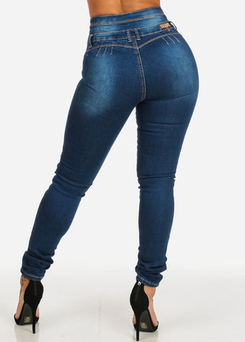 Image of Brazilian Butt Lift High Waisted Skinny Jeans