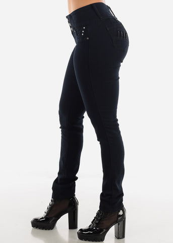 Image of Black Denim Booty Boost Jeans