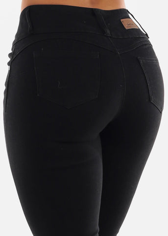 Image of Black Butt Lifting Capris