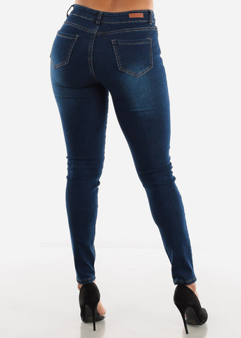 Image of Blue Ripped Jeans
