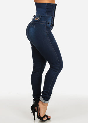 Butt Lifting Ultra High Waist Skinny Jeans