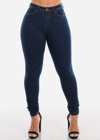 Levanta Cola Dark Wash Skinny Jeans