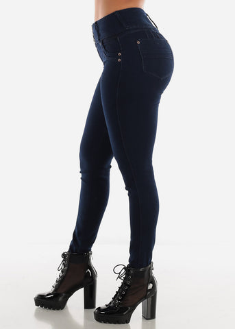 Image of Levanta Cola Dark Blue Skinny Jeans