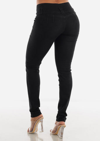 Image of Levanta Cola Black Skinny Jeans
