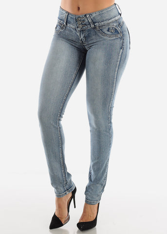 Levanta Cola Low Rise Butt Lifting Skinny Jeans