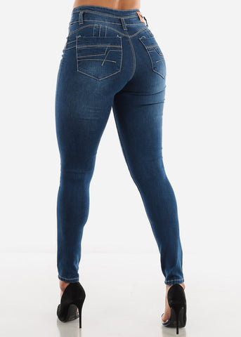 Butt Lifting Skinny Jeans