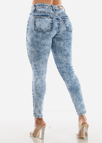 Image of Marble Skinny Jeans