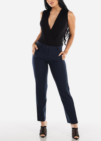 Image of Navy Dress Pants